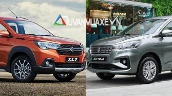 So sanh khac biet Suzuki XL7 2020 va Suzuki Ertiga 7 cho tai Viet Nam