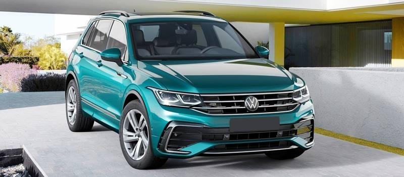 Xe 7 cho Volkswagen Tiguan 2021 moi nang cap thiet ke va cong nghe