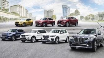 Bang gia xe BMW moi tai Viet Nam - BMW 3, X1, X3, X5, X6, X7 doi 2020