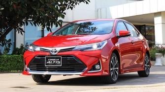 Nhung nang cap moi tren xe Toyota Corolla Altis 2020 tai Viet Nam