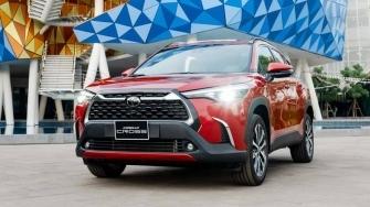 Trang bi tren ban tieu chuan Toyota Corolla Cross 1.8G 2020 moi