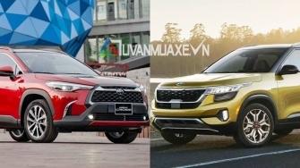 So sanh xe Toyota Corolla Cross 2020 va KIA Seltos 2020 moi