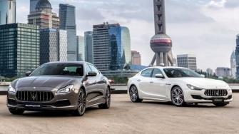 Xe sedan the thao Maserati tai Viet Nam - Ghibli va Quattroporte