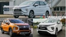 So sanh phien ban xe Mitsubishi Xpander MT, AT va Xpander Cross