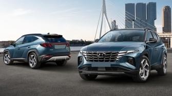 Hyundai Tucson 2021 the he moi