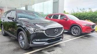 Ban tieu chuan Mazda CX-8 Deluxe 2020 moi nang cap trang bi