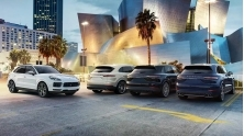 Gia xe SUV Porsche Macan, Cayenne, Cayenne Coupe tai Viet Nam