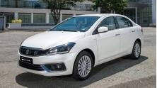 Suzuki Ciaz 2020 moi co gia ban 529 trieu tai Viet Nam