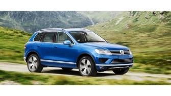 Chi tiet Volkswagen Touareg 2016 se ve Viet Nam cuoi nam nay
