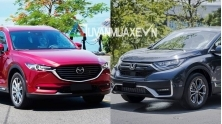 So sanh xe Mazda CX-8 va Honda CR-V 2020