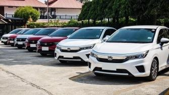 Cac phien ban xe Honda City 2021 tai Viet Nam