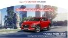 Bang gia va tra gop toi thieu khi mua xe Hyundai KONA thang 10
