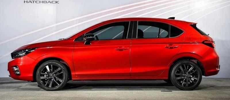 Honda City Hatchback chinh thuc ra mat