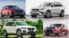 So sanh xe SUV 4 ty dong - Q7, X5, RX350L, XC90 2021
