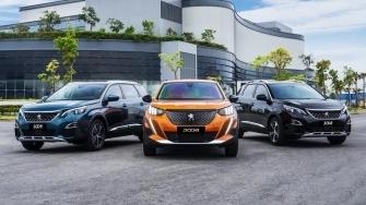 Bang gia xe o to Peugeot 2021