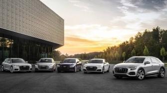 Bang gia xe Audi 2021