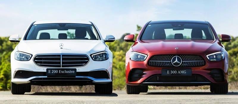 Gia ban xe Mercedes E-Class 2021 tu 2,31 ty dong tai Viet Nam