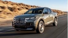 Xe ban tai Hyundai Santa Cruz 2022 trang bi dong co xang
