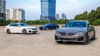So sanh khac biet 3 phien ban xe BMW 5-Series 2021 moi