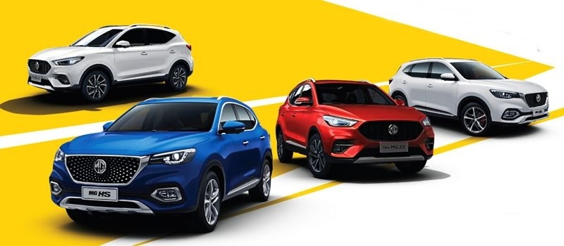 Bang gia xe MG Anh Quoc 2021 - Khuyen mai mua xe