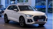 Thong so ky thuat va trang bi xe Audi Q5 2021 moi tai Viet Nam
