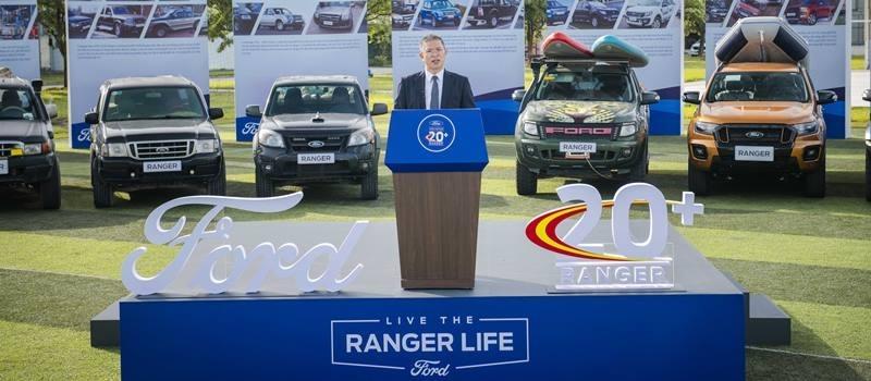Ford Ranger 20 nam tai Viet Nam va 100.000 xe ban ra