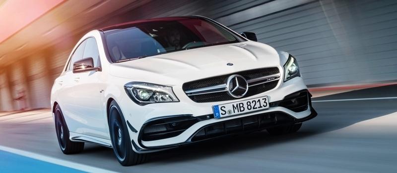 Mercedes CLA 2016 phien ban nang cap sap ve Viet Nam