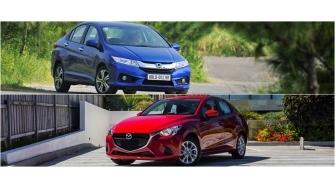 So sanh Honda City 2016 va Mazda 2 2016