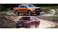 So sanh Ford Ranger 2016 va Toyota Hilux 2016 phien ban cao cap