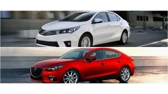 So sanh Mazda 3 va Toyota Altis 2016 phien ban dong co 2.0L