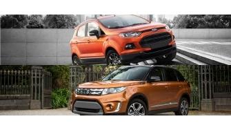 So sanh Ford EcoSport va Suzuki Vitara 2016