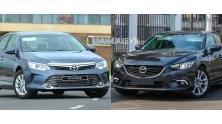 So sanh xe Mazda 6 va Toyota Camry 2015-2016