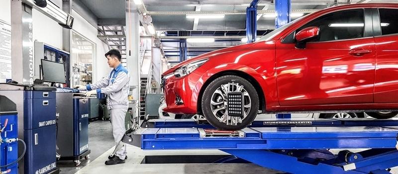 Bảng giá dịch vụ bảo dưỡng định kỳ xe Mazda tại Việt Nam