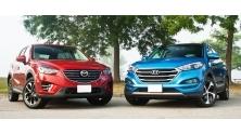 So sanh xe Hyundai Tucson va Mazda CX-5 2016