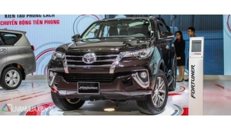 Toyota Fortuner 2016-2017 the he moi ra mat Viet Nam