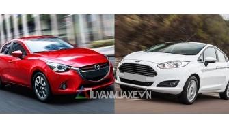 So sanh xe Mazda 2 va Ford Fiesta Hatchback 5 cua