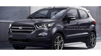 Ford EcoSport 2017 sap ra mat