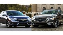 So sanh xe Mazda 6 va Honda Civic 2017