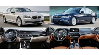 BMW 5-Series 2018 co gi noi bat so voi phien ban cu?