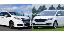 So sanh xe Kia Sedona va Honda Odyssey 2016