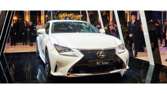 Xe the thao Lexus RC Turbo co gia ban 2,98 ty dong tai Viet Nam