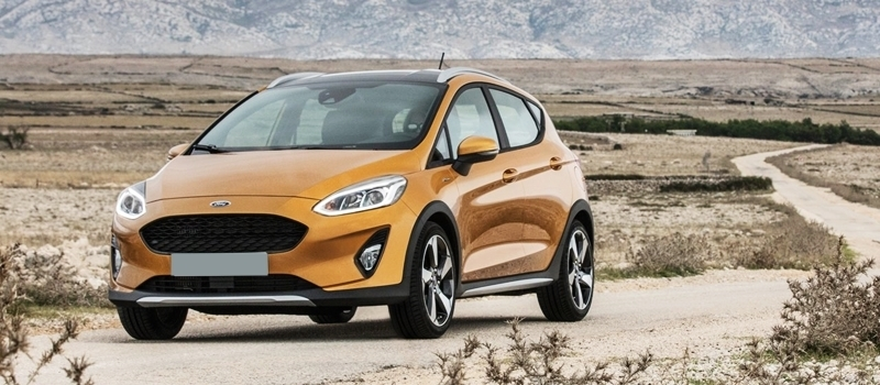 Ford Fiesta Active 2017 - phien ban gam cao Offroad nhe