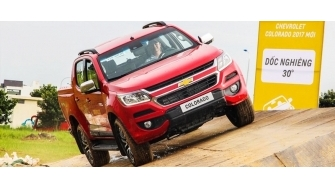 Chevrolet Colorado 2017 tai Viet Nam nang cap tinh nang an toan