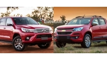 So sanh xe Toyota Hilux va Chevrolet Colorado 2017
