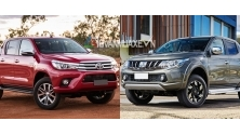 So sanh xe Mitsubishi Triton va Toyota Hilux 2017