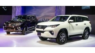 Toyota Fortuner 2017 chinh thuc ban ra tai Viet Nam, gia tu 981 trieu