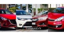 Doanh so ban xe sedan hang B tai Viet Nam thang 1/2017