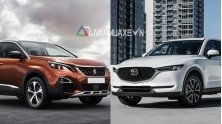 Nen mua xe Mazda CX-5 2018 hay Peugeot 3008 2018 hoan toan moi