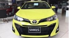 Nen mua xe Toyota Yaris 2019 moi hay Honda Jazz
