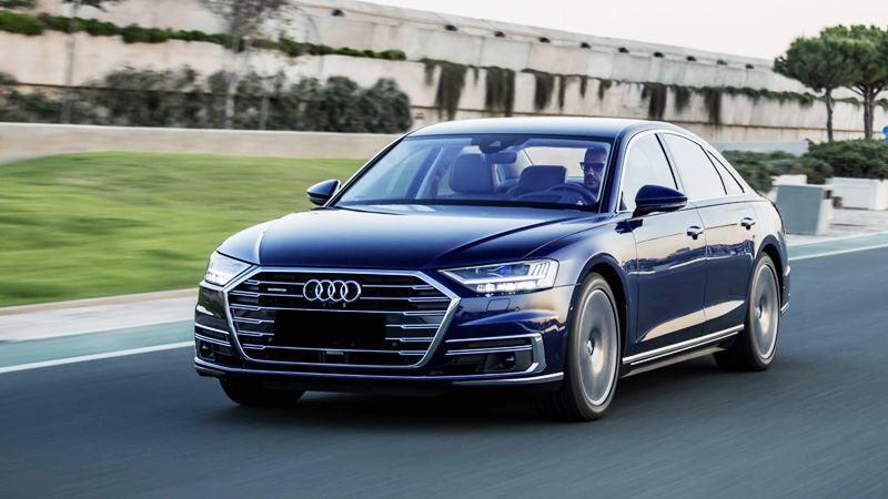 Hình ảnh chi tiết xe Audi A8 2019 hoàn toàn mới - Ảnh 15